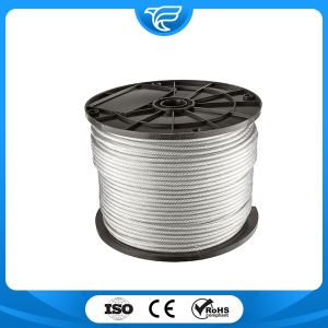 Stainless Steel Wire Rope 6x37+FC