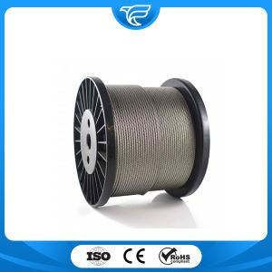 Stainless Steel Wire Rope 6x37+IWRC
